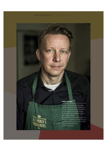 Christian Hincheldey, PERCH'S (SEPT 2018)